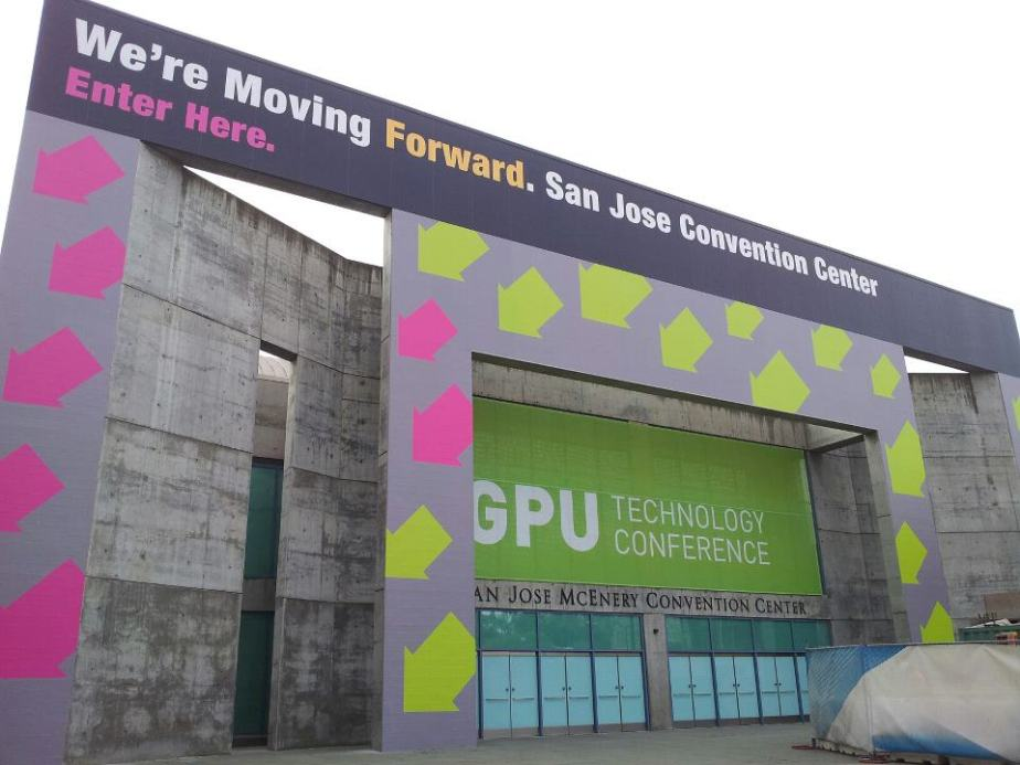 The banners are up and the tutorials have begun. Delegates have started streaming in for GTC 2013 in San Jose.