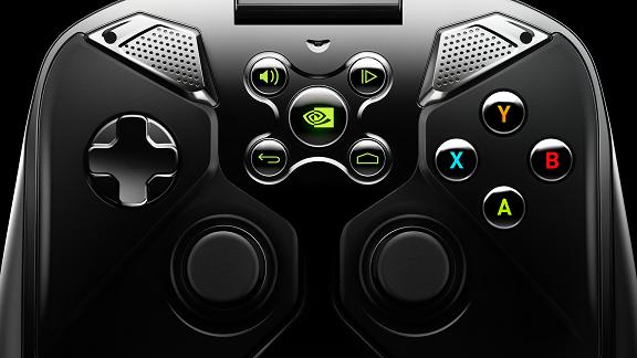 NVIDIA Shield controller view