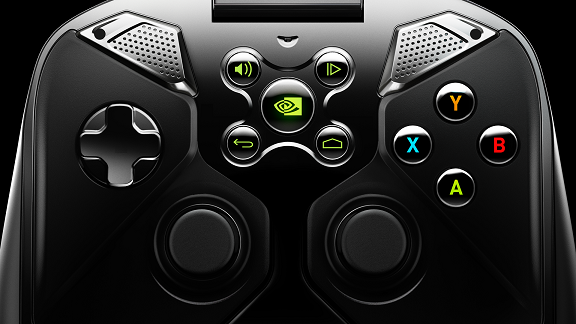 NVIDIA Shield controller view