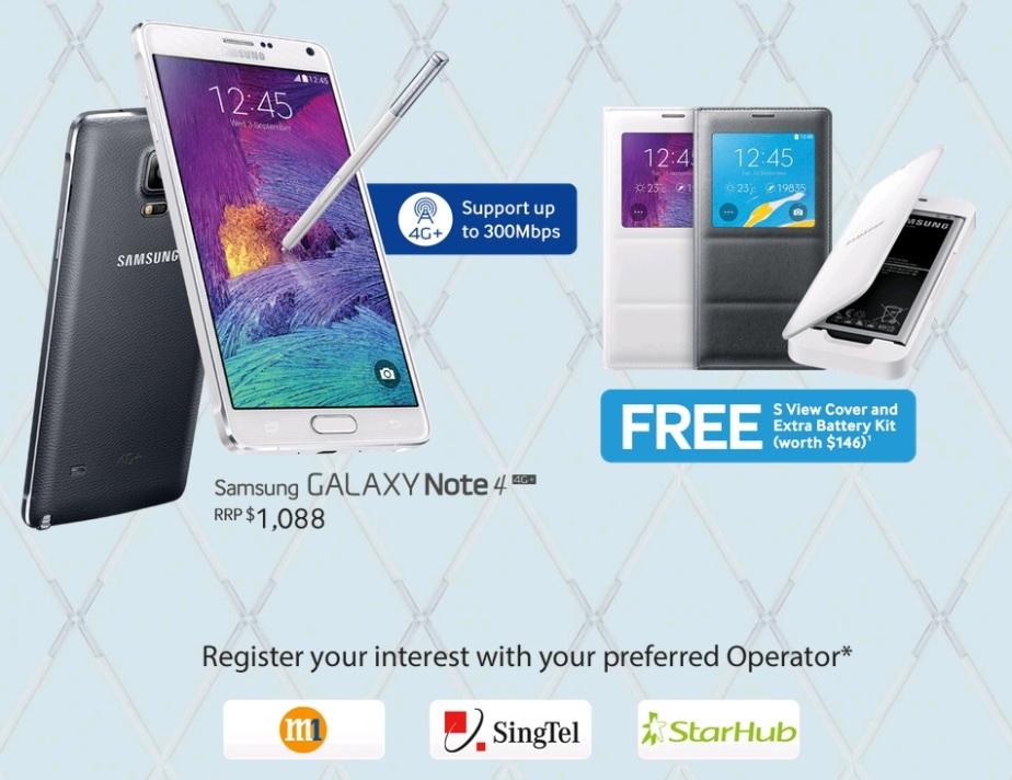 Samsung Galaxy Note 4 pre-order