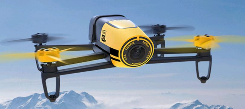 The Parrot Bebop is a fine example of a camera drone that consumers are snapping up.
