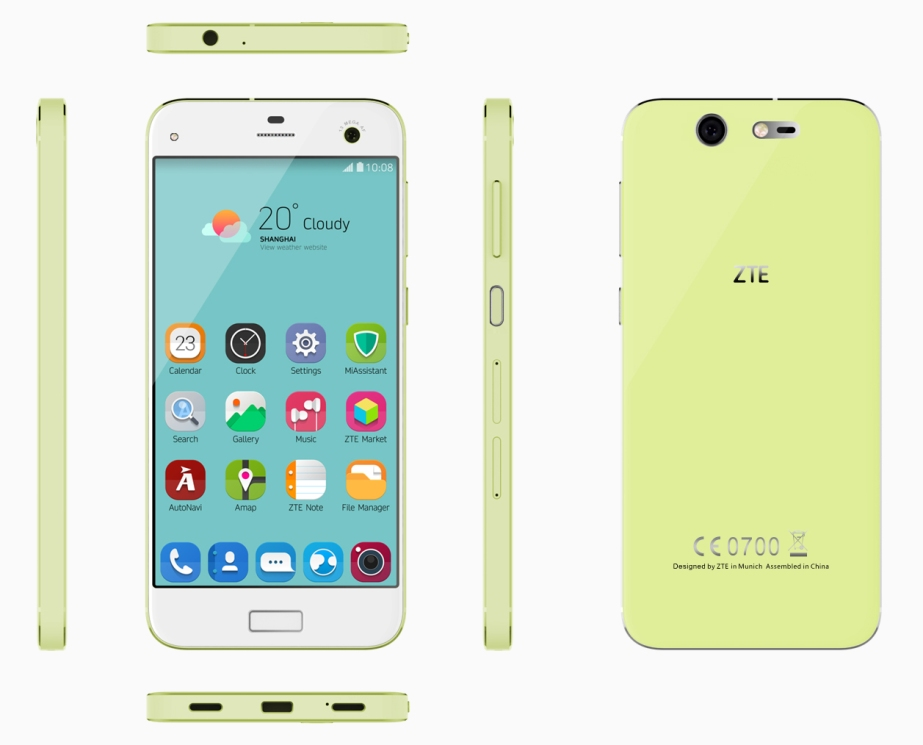 Blade S7-Lemon Green