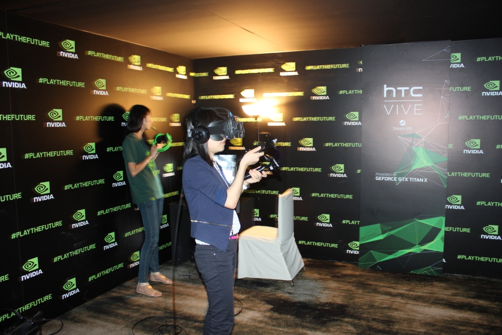 The HTC Vive takes users to another dimension adding freedom of movement to VR.