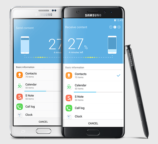 Galaxy Note 7 x 2