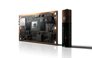 The NVIDIA Jetson TX2 is a credit card-sized platform that puts AI computing on the edge.