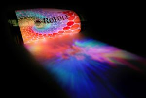 Royole flexible display.