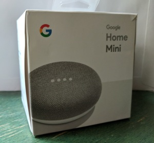 Google Home Mini is competing against Amazon Echo Dot.