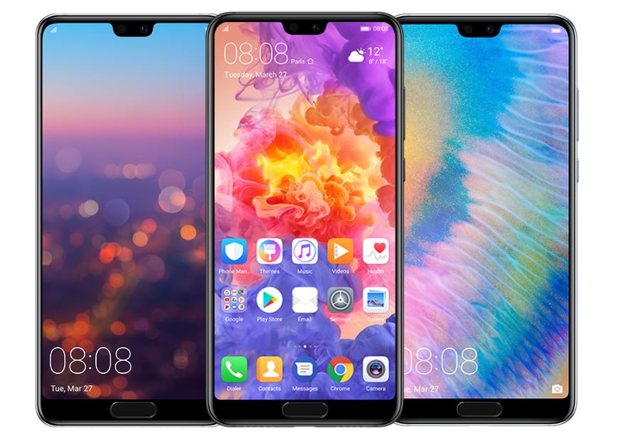 The Huawei P20 Pro helped spur Huawei's growth in Q1.