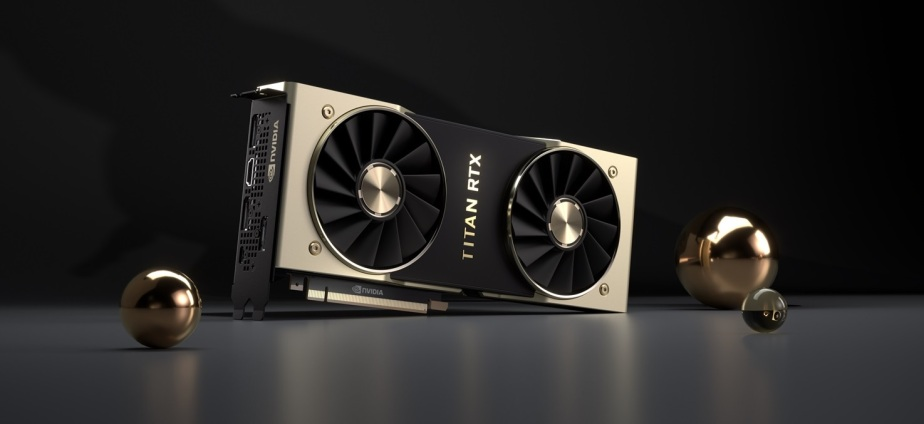 The NVIDIA Titan RTX delivers up to 130 terflops of deep learning performance.