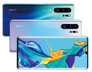 The Huawei P30 series is helping the smartphone maker rise up the global ranking.